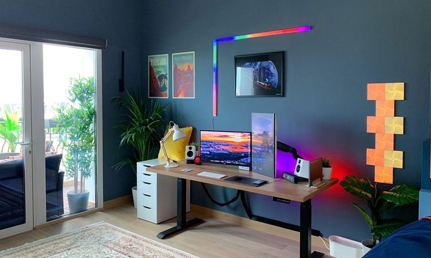 LIFX Beam Review: Home Office